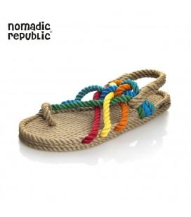 Nomadic Republic Kadın Sandalet yt TM NOM1001K BEJ GOKKUSAGI