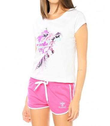 Hummel Colorful Ss Tee Kadın Tişört T08689-9001