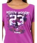 Hummel  Wildlife Ss Tee Kadın Tişört T08709-3378
