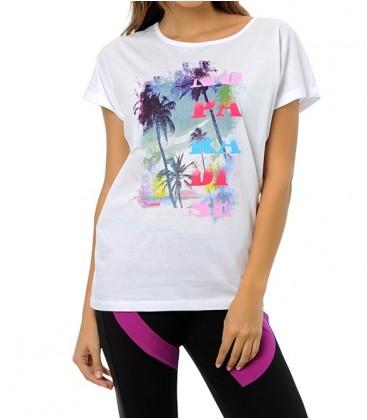 Hummel  Paradise Ss Tee Kadın Tişört T08713-9001