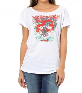 Hummel Wildlife Ss Tee Kadın Tişört T08709-9001