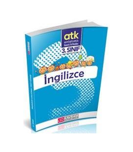 3. SINIF INGILIZCE Anlatımlı Test Kitabı