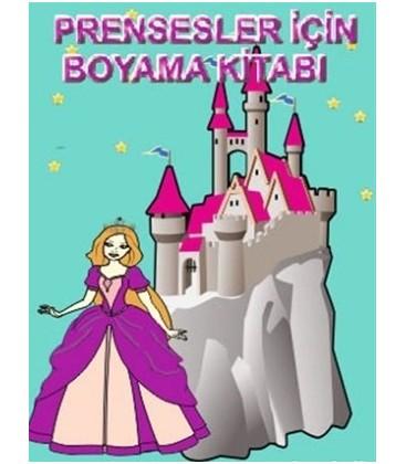 Prensesler Için Boyama Kitabı Gümrük Deposu