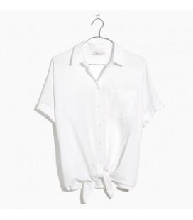 Madewell Kadın Kısa Kollu Gömlek H9920