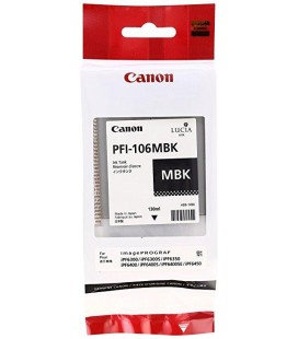 Canon PFI-106 MBK mürekkep kartuşu Pigment mat siyah