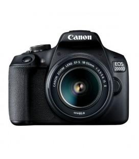 CANON EOS 2000D 18-55 IS +75-300 Dijital Fotoğraf Makinesi