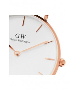 Daniel Wellington Women Classic Petite Bristol White Rose Gold Saat - 32Mm