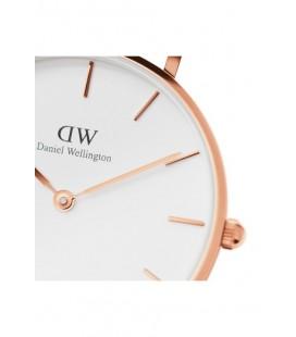 Daniel Wellington Women Classic Petite Bristol White Rose Gold Saat - 32Mm