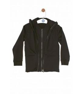 Nebbati Erkek Çocuk Siyah Sweatshirt  18FW0NB3406