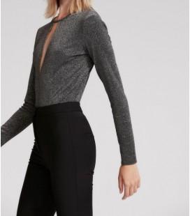 Rue Kadın Ön Ve Arka Dekolteli Body Bluz 20370081