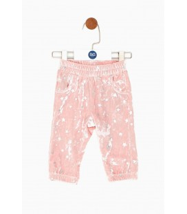 B&G Store Kız Bebek Pembe Eşofman Altı 18FW0BG2222