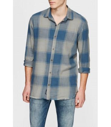 Mavi Erkek Kareli Yeşil Gömlek 020875-25758