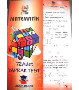 3. Sınıf  Matematik Yaprak Test