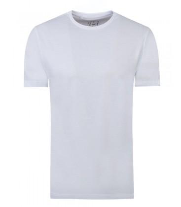 Ds TWN Beyaz T-Shirt | Slim Fit 2EF149921000M801