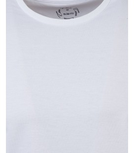 Ds TWN Beyaz T-Shirt   Slim Fit 2EF149921000M801