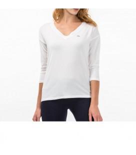 Lacoste Tişört V YAKA T-Shirt & Bluz TF1818.18B