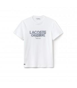 Lacoste Erkek Beyaz T Shirt TH6956.QQE
