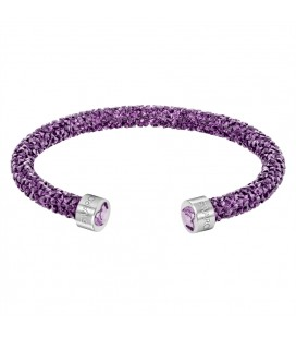Swarovski Bilezik Crystaldust Cuff Heart Purple Size M Limited Edition 5278499