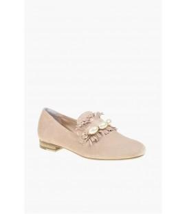 Divarese Kadın Pudra Rengi Loafer Ayakkabı 502142300
