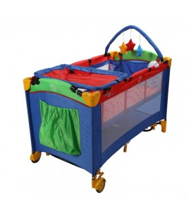 baby&plus Bebek Oyun Seyahat Katlanabilir Park Yatağı BYP-DLC302
