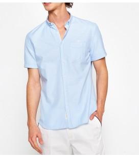 Koton Cep Detaylı Gömlek Mavi 7YAM62320KW601