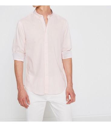 Koton Klasik Yaka Gömlek Pembe 7YAM62123KWBT4