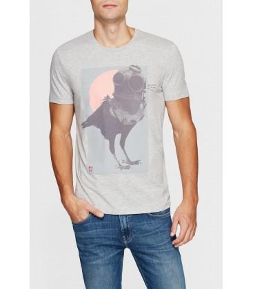 Mavi Erkek Baskılı T-shirt 064966-25167