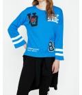 Koton Kadın Mavi Sweatshirt  9KAL11561JK