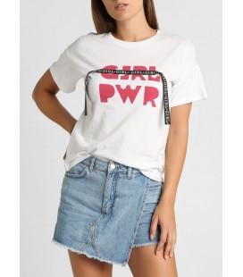 Koton Kadın Beyaz T-Shirt 9KAL19032IK001