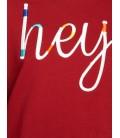 Koton Kadın İşlemeli Sweatshirt Terracotta 9KAL11963OK996