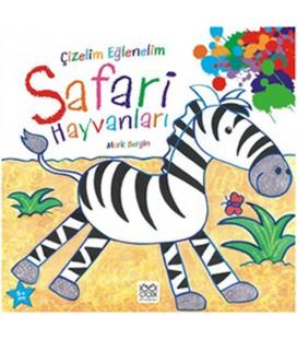 Çizelim Eğlenelim Safari Hayvanları