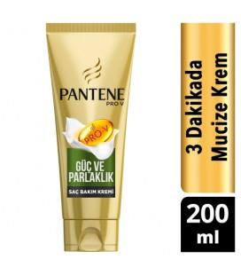 Pantene 3 Minute Miracle Saç Bakım Kremi Güç ve Parlaklık 200 Ml