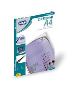 Mas Cilt Kapağı A4 100 Lü Pk.Beyaz 7740