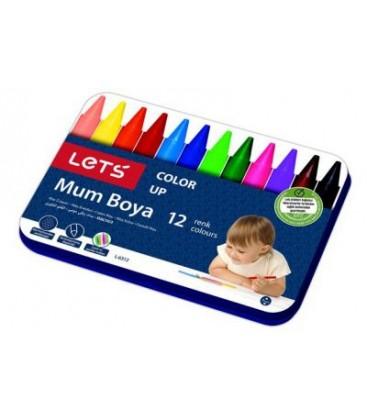 Lets Mum Boya L-6312 12 Renk 11mm Jumbo