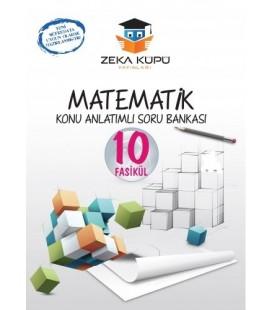 8. Sınıf 10 Fasikül  Matematik Konu Anlatımlı Soru Bankası