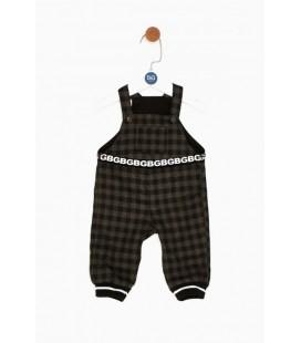 Gb Erkek Bebek Siyah Salopet 18FW0BG1807