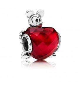 PANDORA Disney Mickey Aşk Kalp Çekicilik 797168NFR