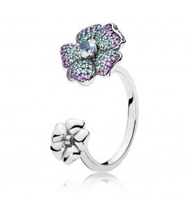 PANDORA Glorious Blooms Ring Yüzük 197086NRPMX-58