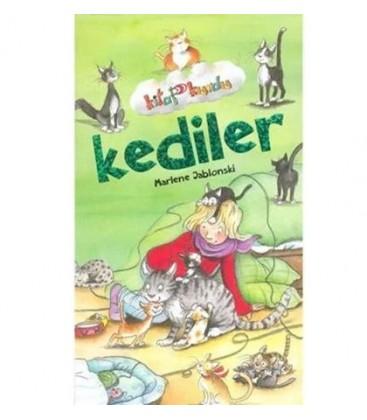 Kediler Kitap Kurdu Çocuk Gezegeni - Marlene Jablonski