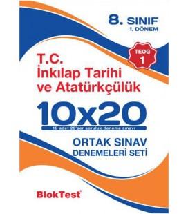 8.Sınıf TEOG 1 - T.C.İnkilap Tarihi ve Atatürkçülük