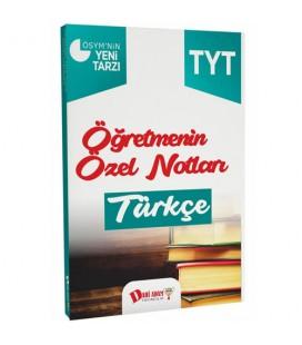 TYT Öğretmenin Özel Notları Türkçe Dahi Adam Yayınları