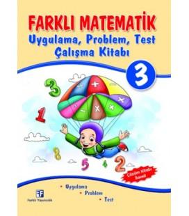 3. Sınıf Farklı Matematik Uygulama, Problem, Test Çalışma Kitabı