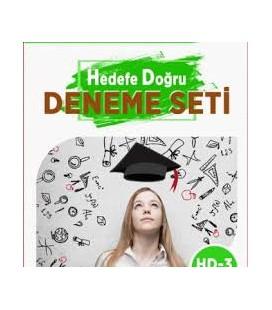 YGS Hedefe Doğru Deneme Seti HD-3 Çağrışım Yayınları