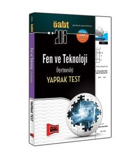 2016 ÖABT Fen ve Teknoloji Öğretmenliği Yaprak Test