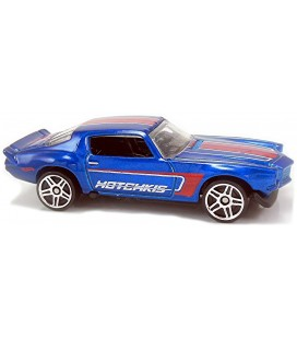 Hot Wheels - '70 Camaro Blue 2018 HW Speed Graphics  153/365 Model Araba Metal