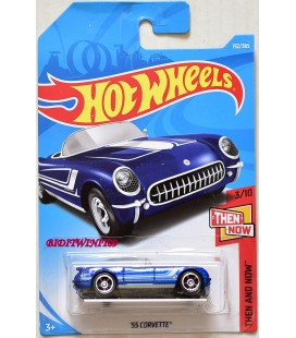 Hot Wheels 55 CORVETTE Diecast Metal Model Araba FKB19