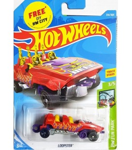 Hot Wheels Loopster HW Fun Park -2018 314/365 Metal Model Araba