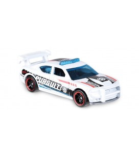 Hot Wheels - Dodge Charger Drift White 2018 HW Metro 208/365 Metal Model Araba