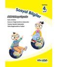4. Sınıf Sosyal Bilgiler Kitabı Cancan Yayınları