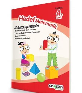 4.Sınıf Hedef Matematik - Cancan Yayınları